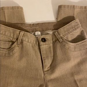 Christopher and Banks size 4 short modern fit jean